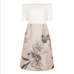 Ted Baker Cathiey Wooland Jacquard Dress